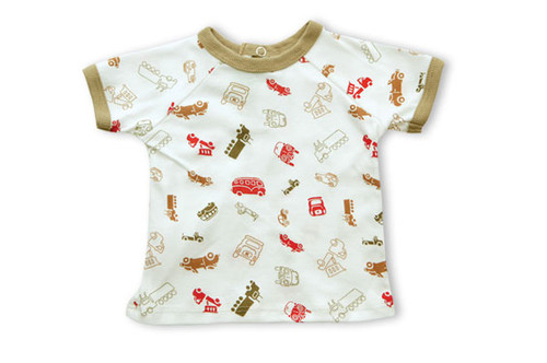 Kumquat:  Cars & Trucks Multi-Print Tee