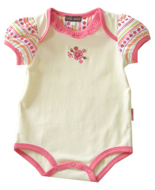 Rabbit Moon:  Sunlight Yellow Bodysuit
