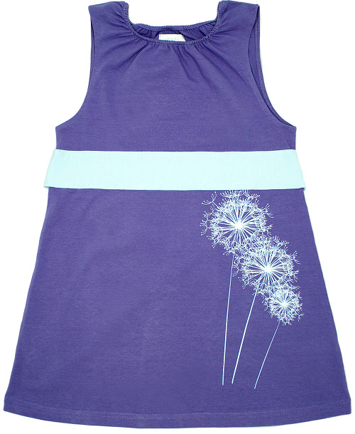 Nohi Kids:  Dandelion Dress in Lavender