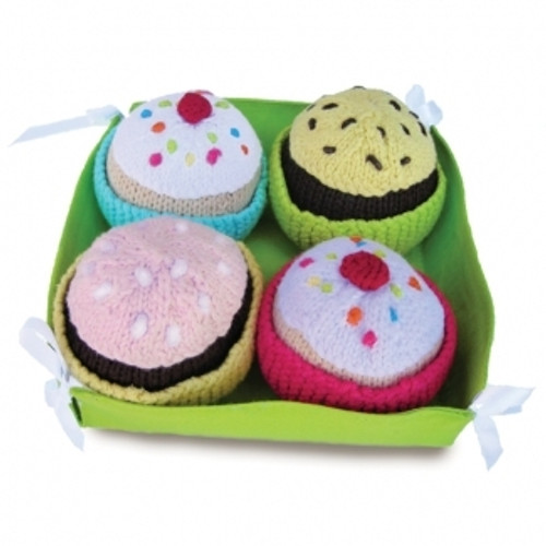 Cupcakes made by fair trade artisans, from Yellow Label