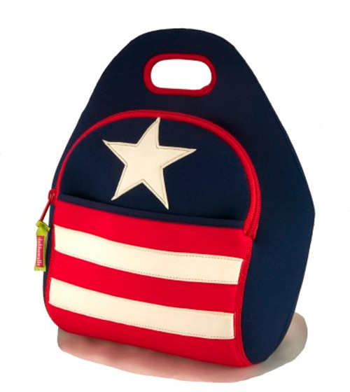 Dabbawalla Bags:  Stars & Stripes Lunch Bag