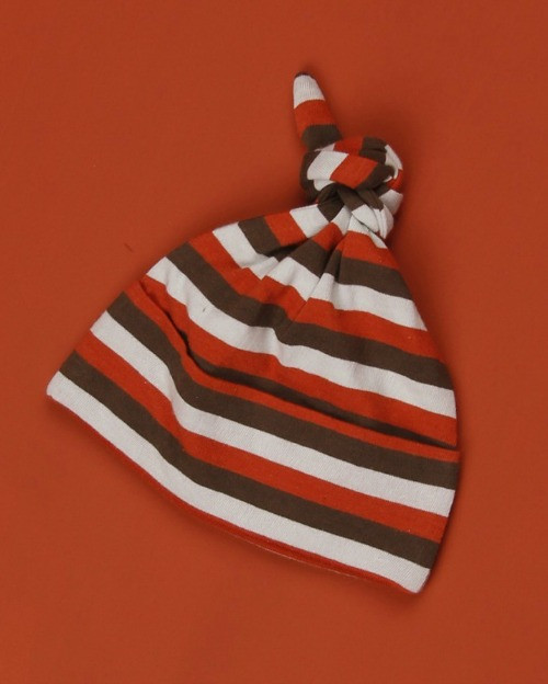 Kate Quinn Organics:  Knot Hat in Tri-Stripe
