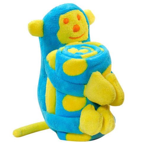 Elegant Baby Blanket With Monkey Softie Dandelion Baby