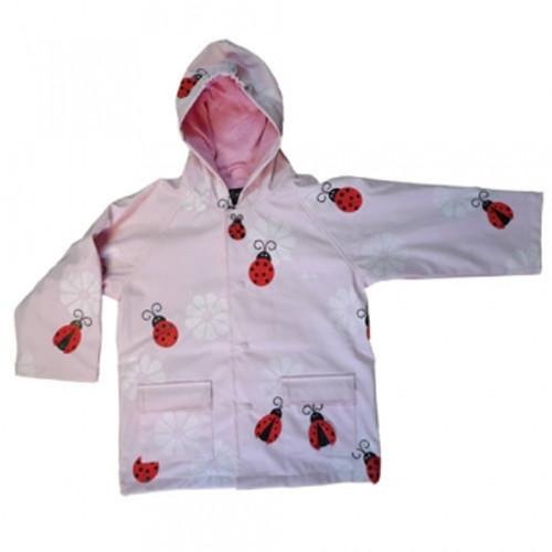 Foxfire for Kids:  Ladybug Raincoat, Lined