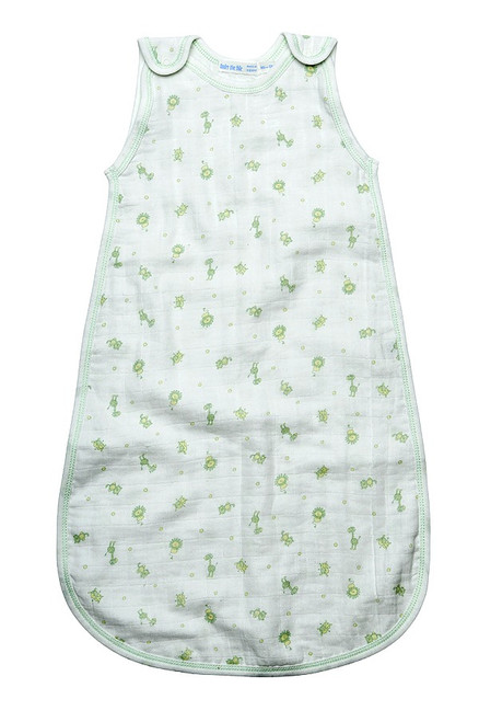 Under the Nile:  Snap Bottom Muslin Sleep Sack