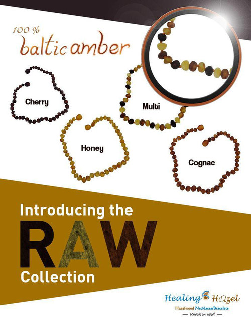 100% Baltic Amber, Raw Collection