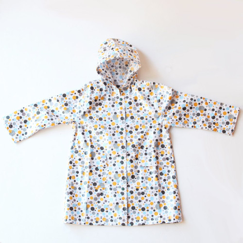 Pluie Pluie Multi Color Dots Raincoat