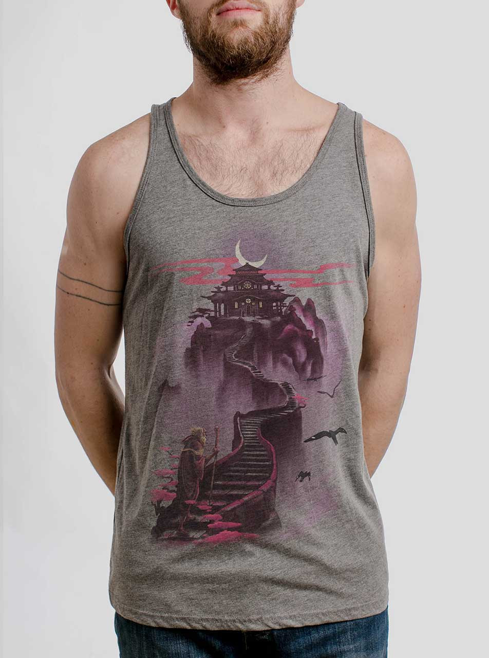 74e6b5e5bfff6 Ascending - Multicolor on Heather Grey Triblend Mens Tank Top - Curbside  Clothing