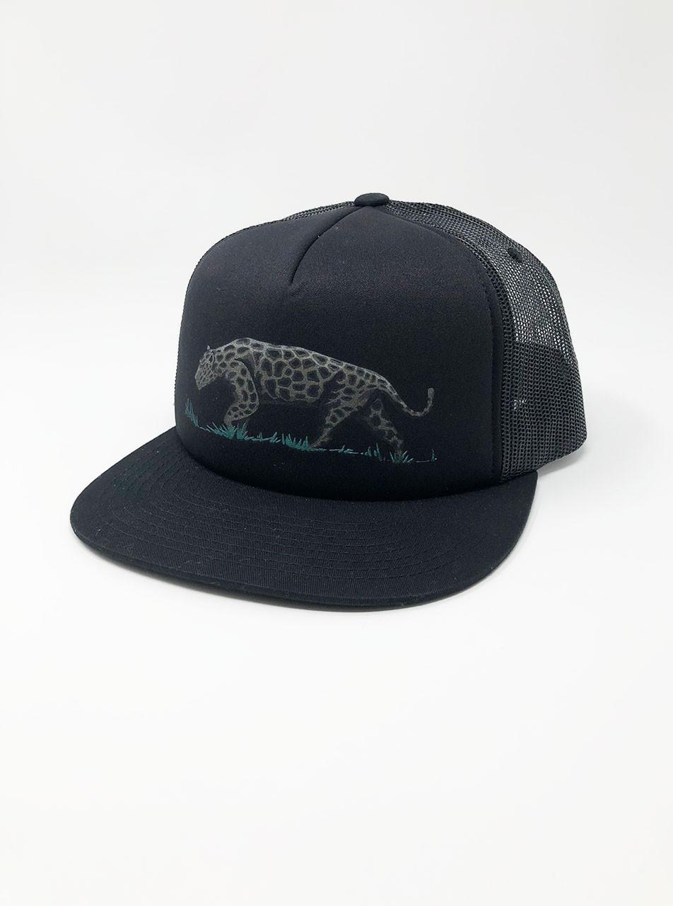Jaguar - Black Snapback Hat Curbside Clothing