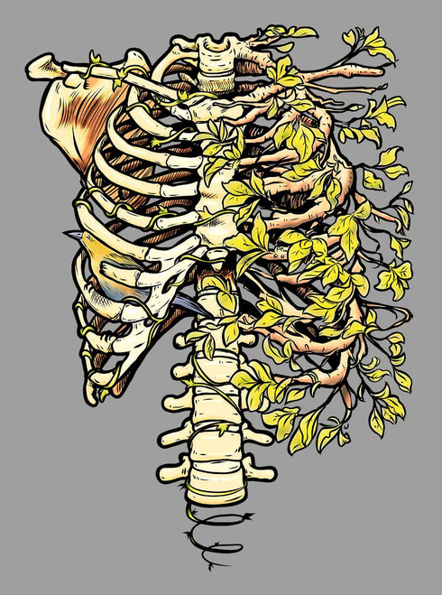 12b2c6dc558f6 Ribs - Multicolor on Heather Grey Triblend Mens Tank Top - Curbside ...