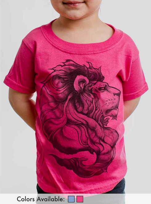 Lion - Multicolor Toddler T-Shirt