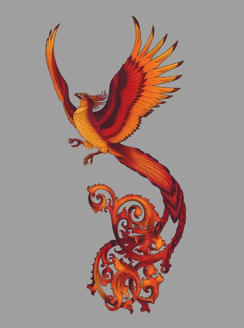 ca8f5efff5663 Phoenix - Multicolor on Heather Grey Triblend Mens Tank Top ...