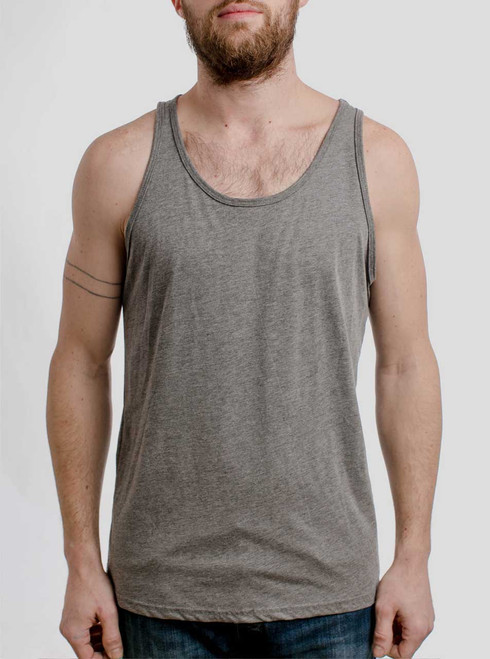 Heather Grey Triblend - Blank Men's Tank Top
