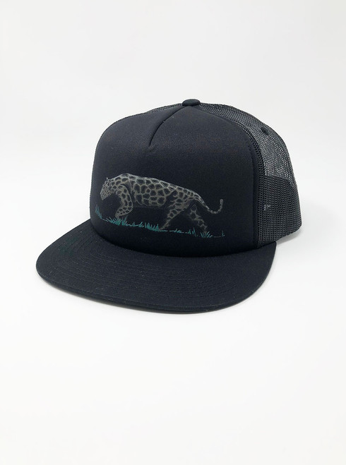 Jaguar - Black Snapback Hat