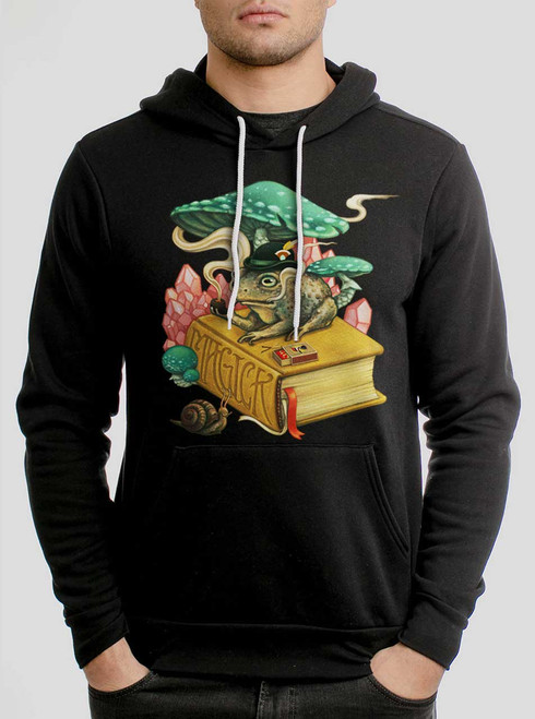 Magick - Multicolor on Black Men's Pullover Hoodie