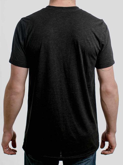 453bc83f ... Death Metal - Multicolor on Heather Black Triblend Mens T Shirt