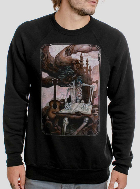 Dead Balladeer - Multicolor on Black Men's Sweatshirt