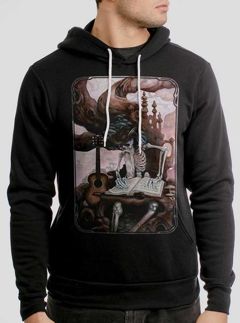 Dead Balladeer - Multicolor on Black Men's Pullover Hoodie