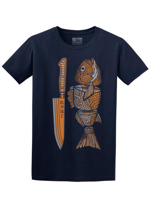 Fish Food - Navy Unisex T-Shirt