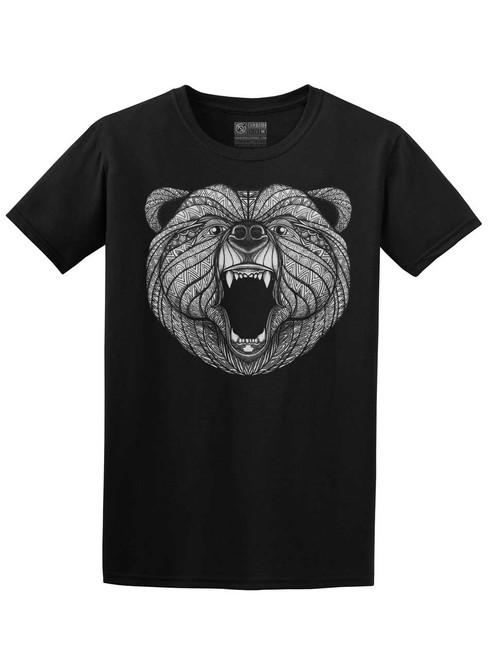 Bear - Black Unisex T-Shirt