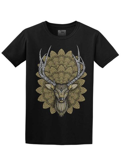 Buck Head - Black Unisex T-Shirt