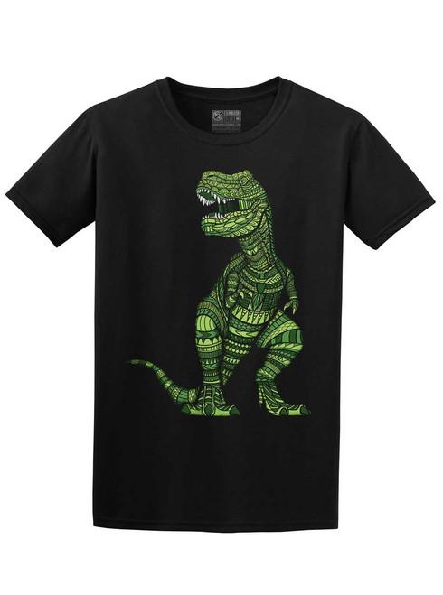 T Rex - Black Unisex T-Shirt