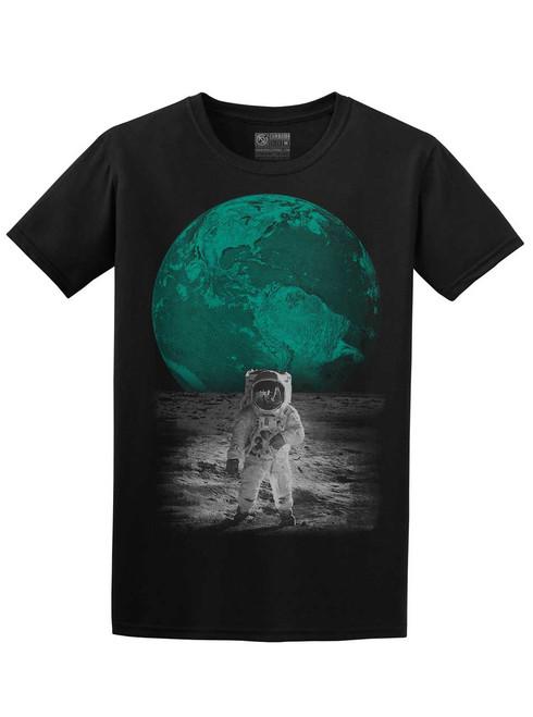 Spaceman - Black Unisex T-Shirt