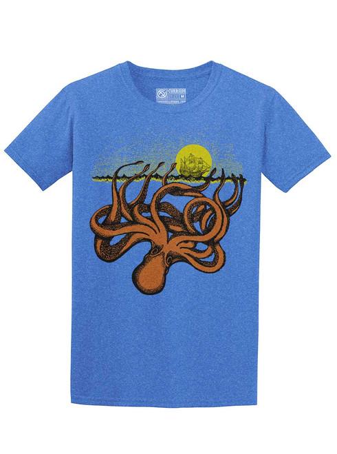 Kraken - Heather Royal Unisex T-Shirt