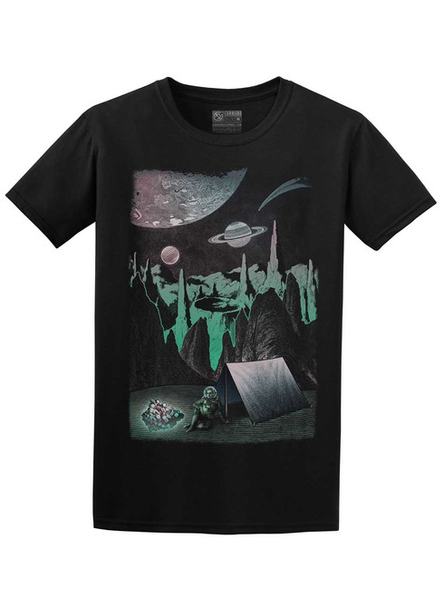 Space Camp - Black Unisex T-Shirt