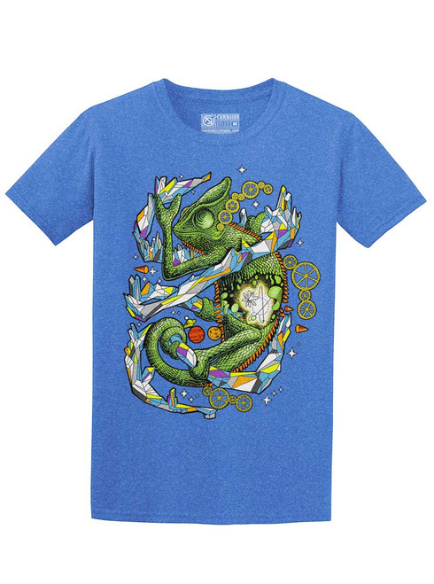 Chameleon - Heather Royal Unisex T-Shirt