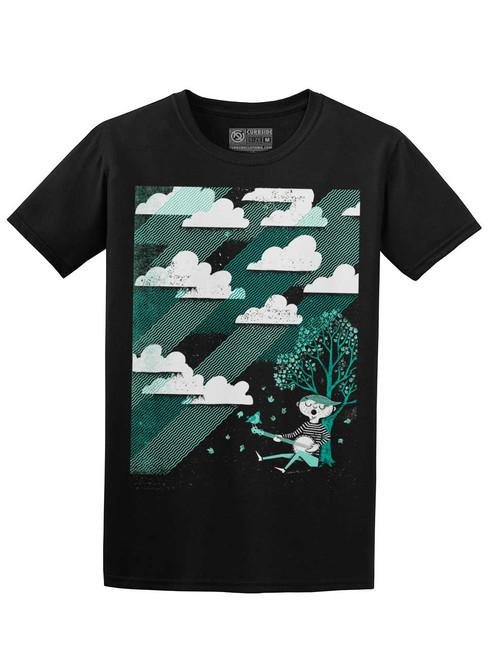 Cloud Song - Black Unisex T-Shirt