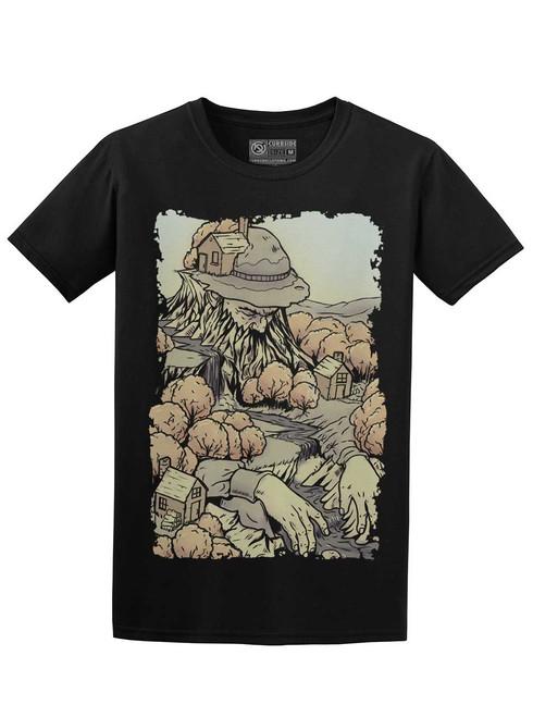 Mountain Man - Black Unisex T-Shirt