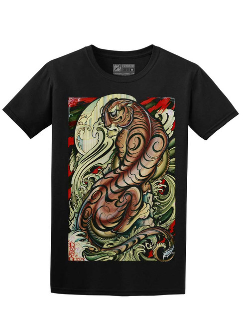 Tigris - Black Unisex T-Shirt