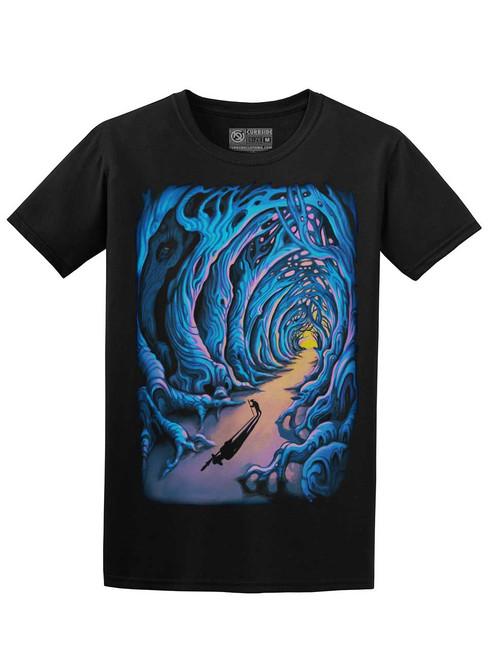 Wanderer - Black Unisex T-Shirt