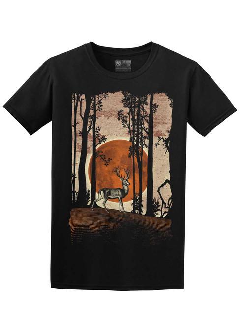 Buck Moon - Black Unisex T-Shirt