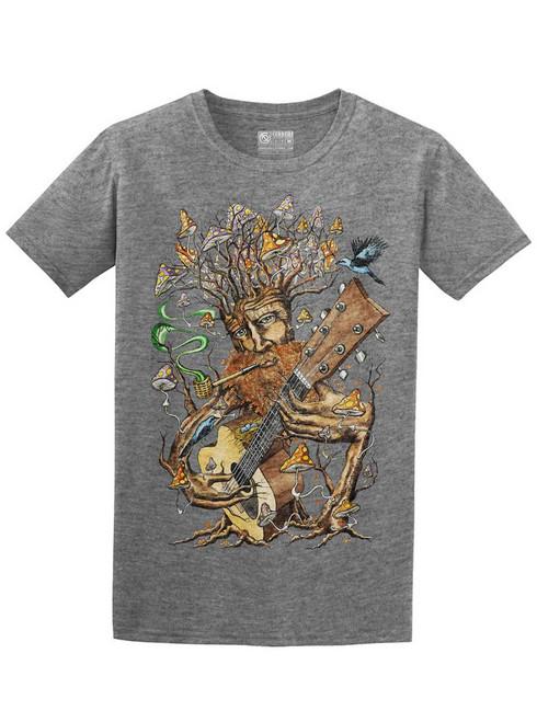 Forest Jam - Graphite Heather Unisex T-Shirt