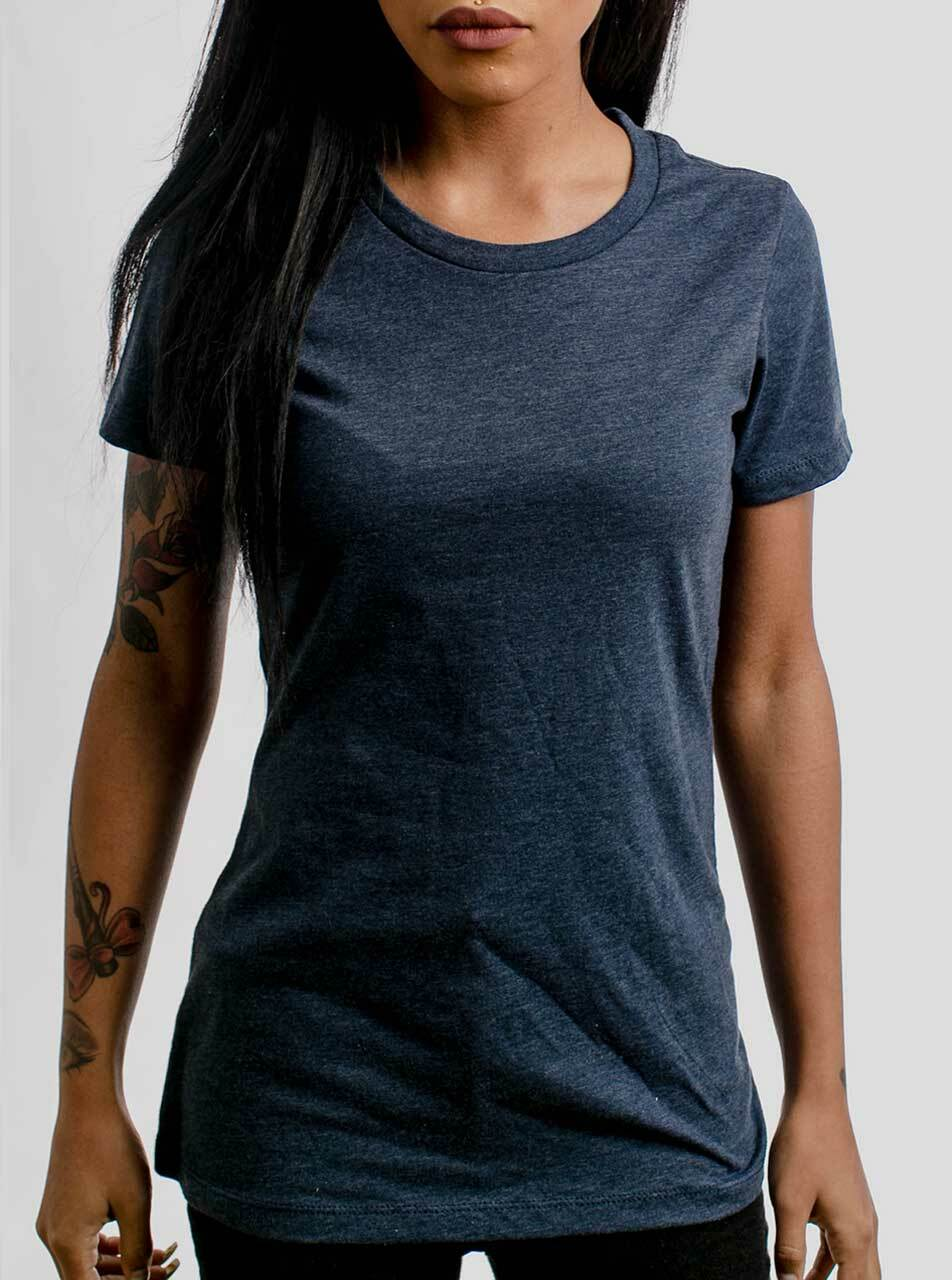 navy t shirt women's