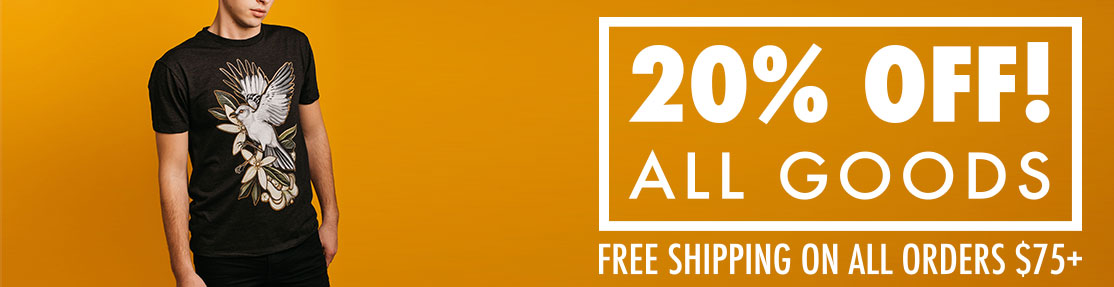 20% OFF ALL GOODS