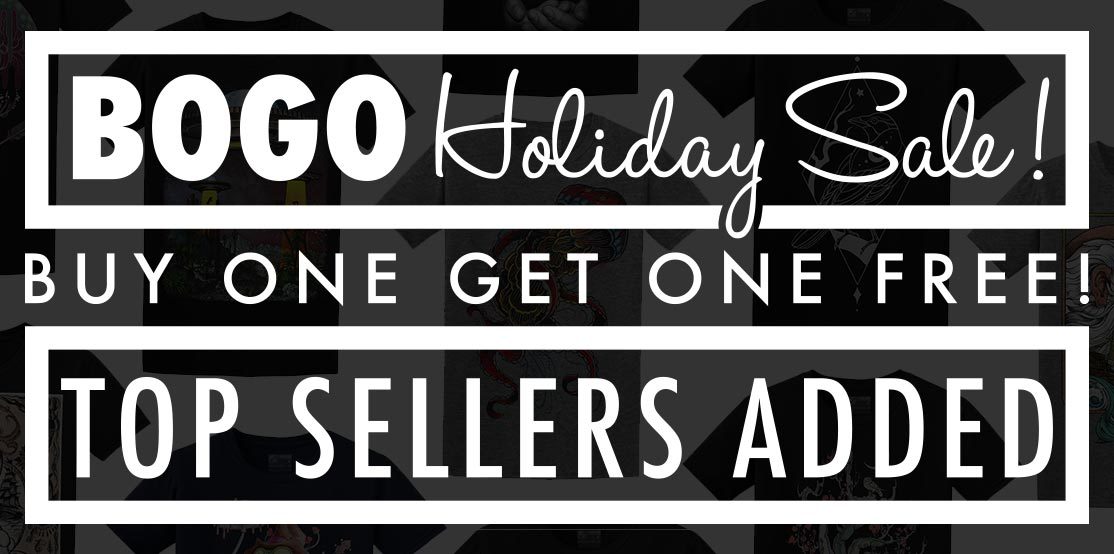 BOGO HOLIDAY SALE