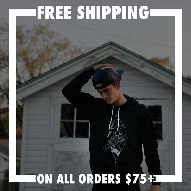 FREE SHIPPING $75+