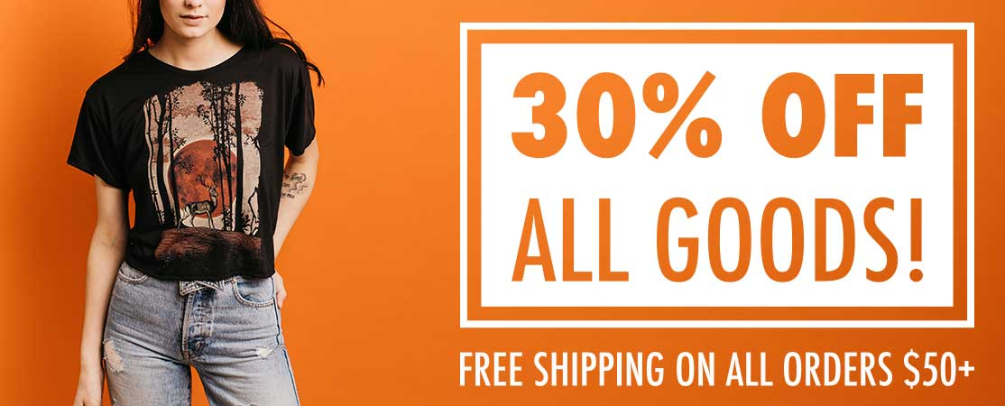 30% OFF ALL GOODS