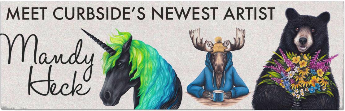 MEET NEW CURBSIDE ARTIST MANDY HECK