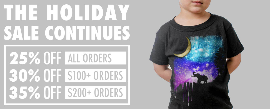 The Holiday Sale Continues!