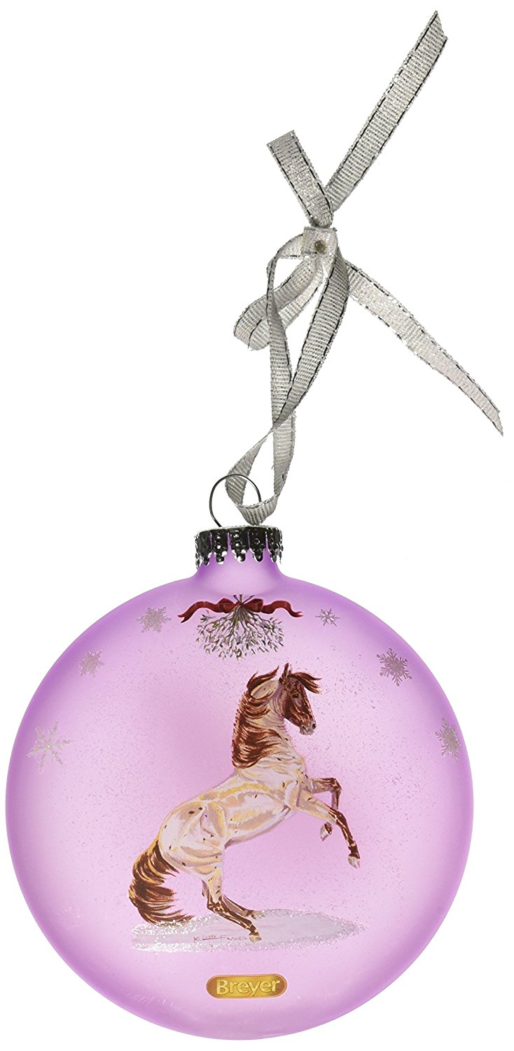 Breyer Artist Signature Ornament Mustang Holiday 2015 Collection