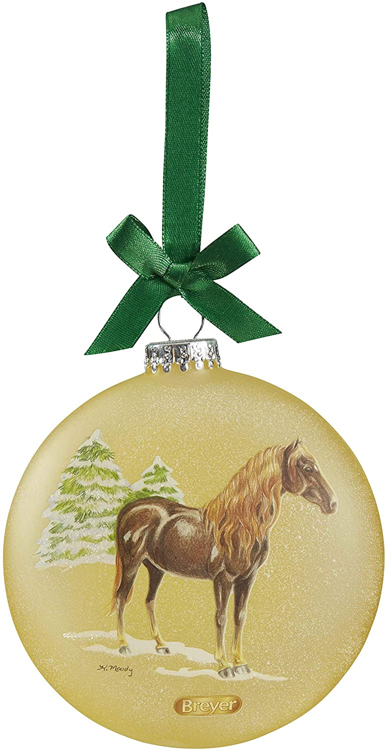 Breyer 2019 Holiday Artist Signature Ornament - Spanish Horses | 2019 Holiday Collection | Limited Edition | Model #700823 - Artist Signature Ornament - Spanish Horses