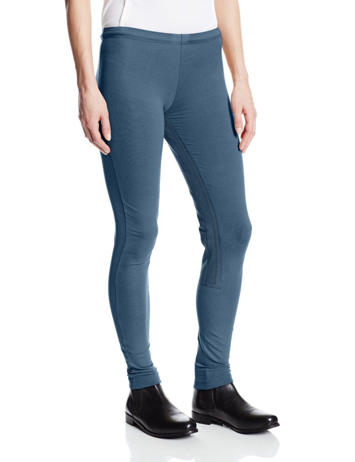 Devon-Aire Women's Versailles Full Sleeve Tights, Sea Blue, X-Small