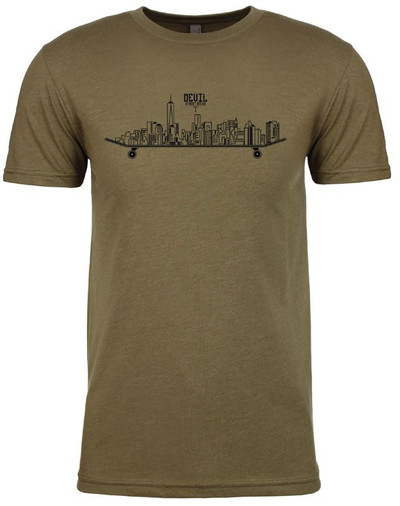 NYC Logo T-Shirt (Army Green)