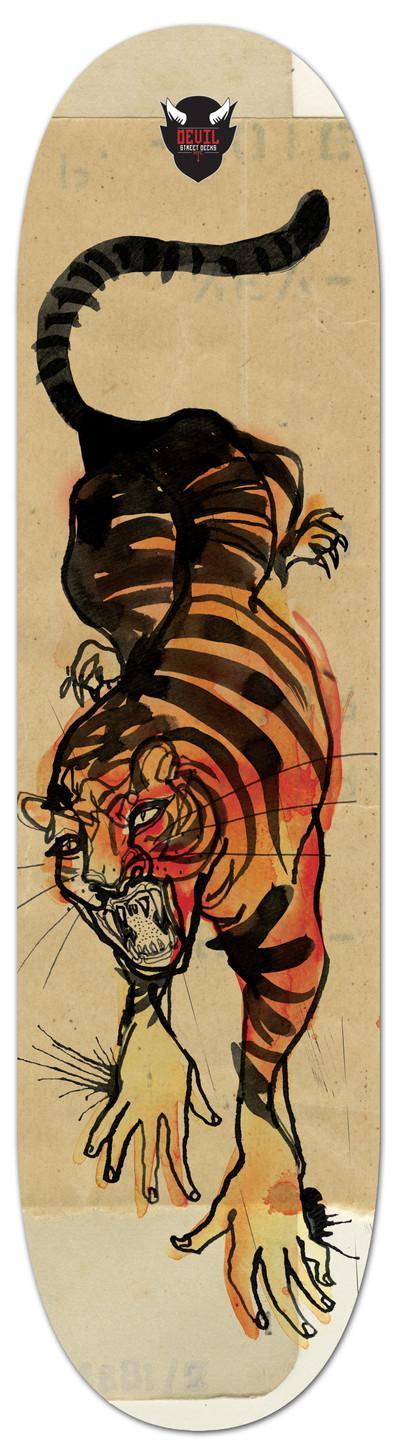 Presenting 'Paper Tiger' from artist and designer ZOE in Sydney, Australia.