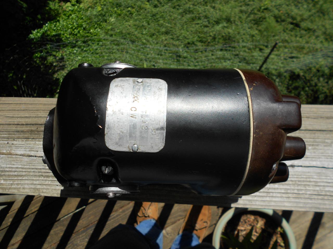 New cap gasket