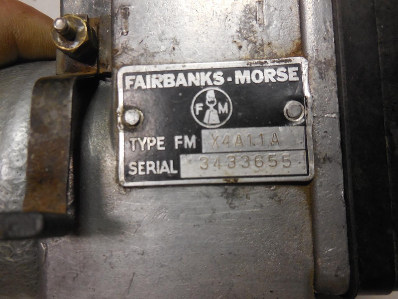 International O9 Fairbanks Morse FMJ4A11A Magneto